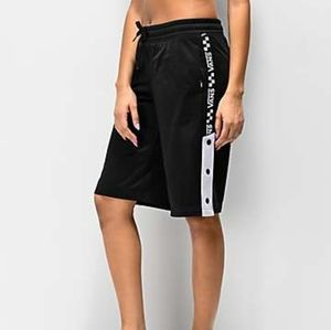 NWT Vans Checkerboard Track Shorts Athletic/Skate